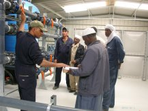 Training of Operator at Waha Plant